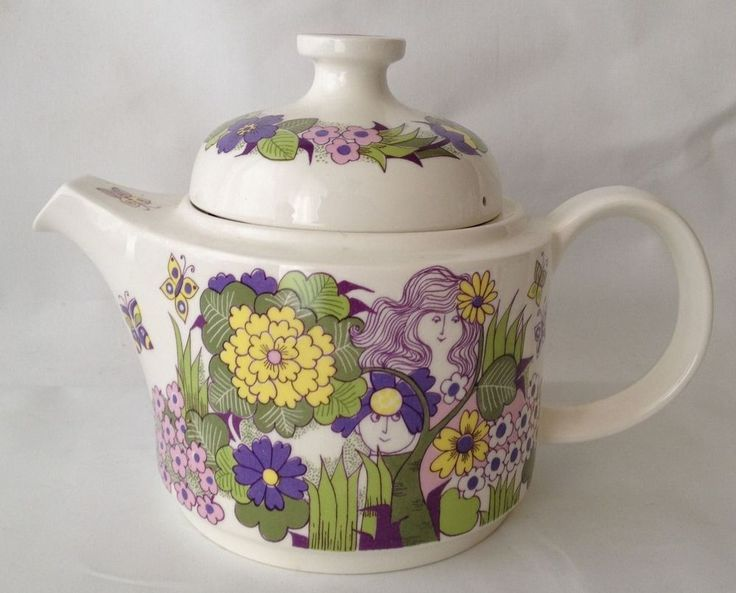 Figgio Norway  Victoria  Turi Design Coffee Tea Pot RARE