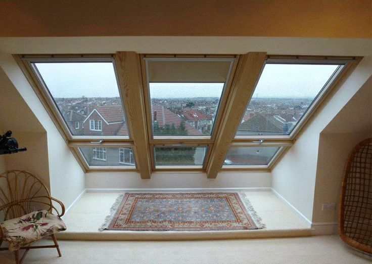 MPK Lofts have made a real feature out of VELUX windows in this loft  conversion (