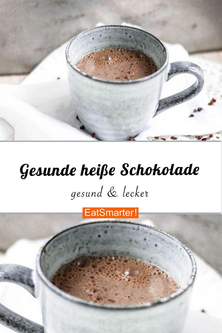 Gesunde heiße Schokolade   – Die beliebtesten & besten Rezepte!