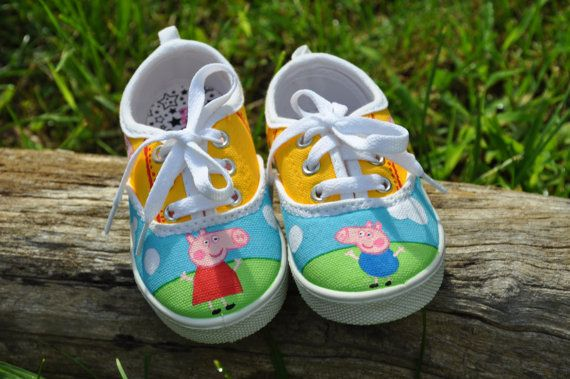Hey, I found this really awesome Etsy listing at https://www.etsy.com/listing/245087087/peppa-pig-and-george-inspired