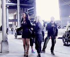 BTS: Jennifer Lawrence, Catching Fire Behind The Scenes. Gifset