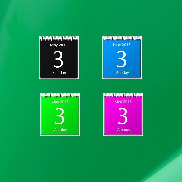 Desktop Calendar Windows 10 : Best images about calendar gadgets win on