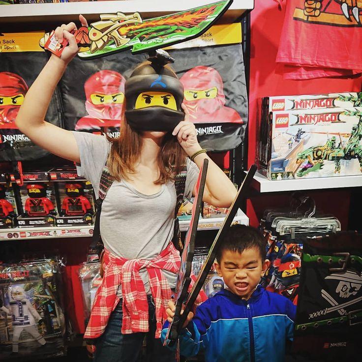 NINJAGO @ LEGO LAND #legoland #ninja #funny #ninjago #sunny