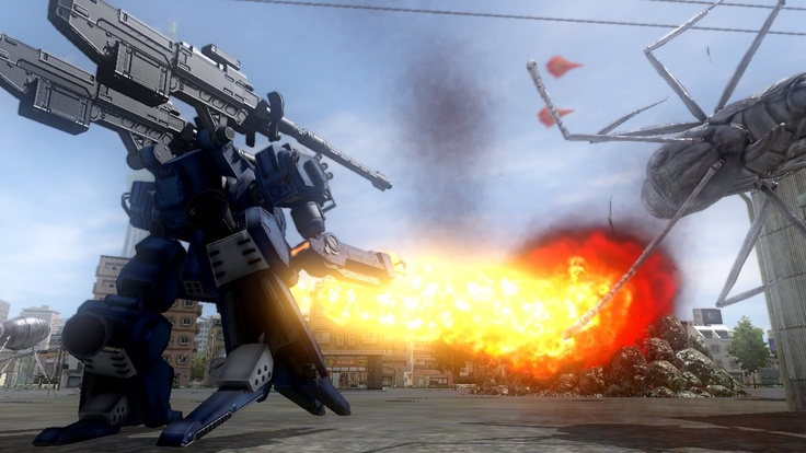 Earth Defense Force 4 New Screenshots