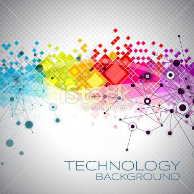 Abstract Technology Background Royalty Free Stock Vector Art Illustration