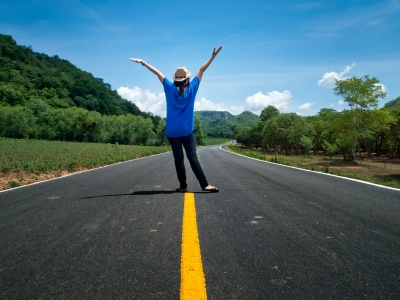 On the road of Happiness