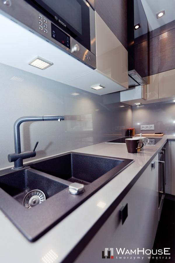 Grey-Black kitchen