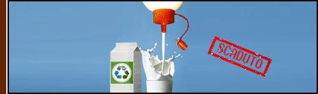 Latte-Colla Come riusare materiale di scarto