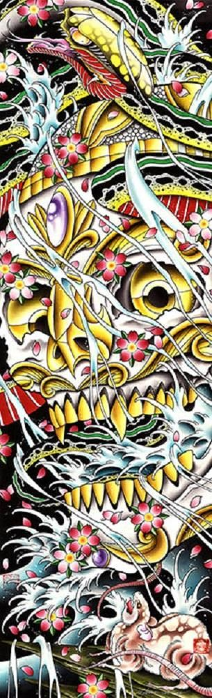 Death of All Things by Cody Meyer Pirate Skull Tattoo Canvas Art Print
