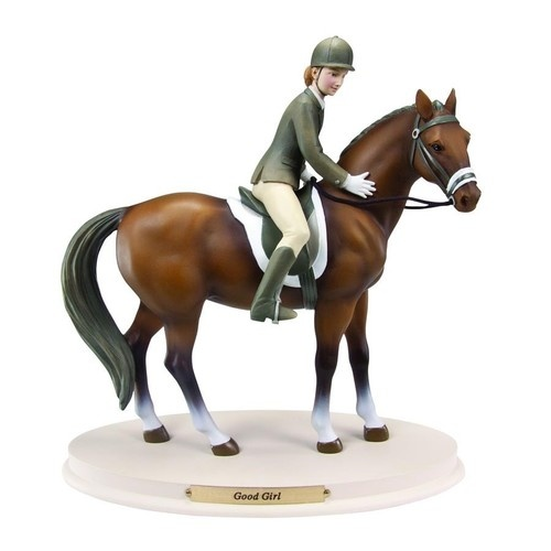 Horse Whispers Good Girl Collectible Equestrian Figurine NIB 2013