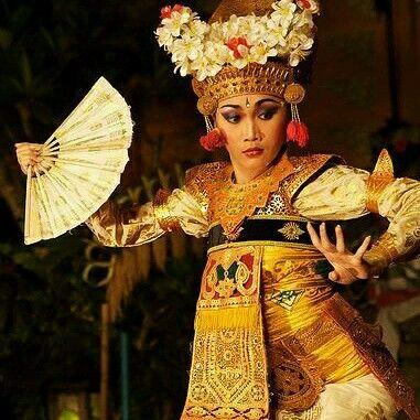 Bailarina Balinesa.