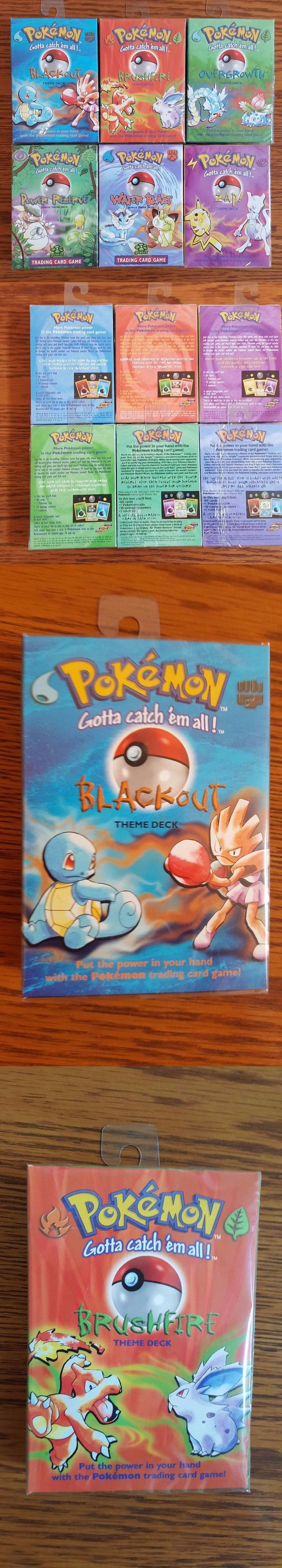 Pok mon Sealed Decks and Kits 183467: Pokemon Theme Decks Sealed, Unopened, New, Perfect Condition -> BUY IT NOW ONLY: $249 on eBay!
