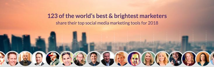 123 of the world's best & brightest marketers share their top social media mar…