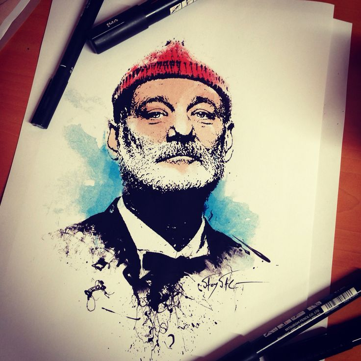 Bill Murray..Steve Zissou