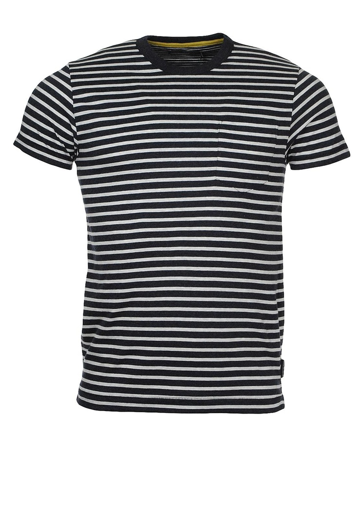 French Connection Stripe Tee, Navy and Grey | McElhinneys Online Department Store