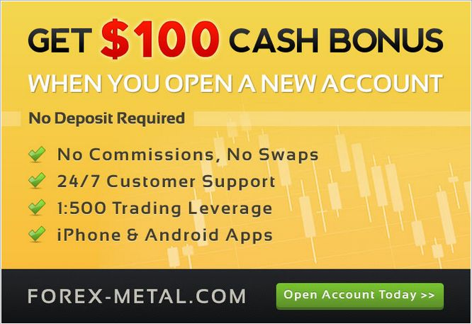 Forex Metal - Get 100 Instant Cash Bonus with New Account! http://world-forex-directory.blogspot.it/2013/12/bonus-offerti.html