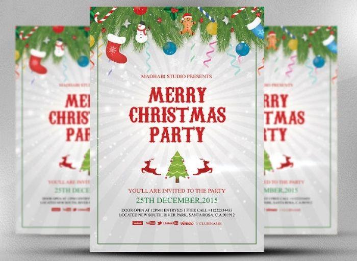 32 Christmas Invitation Templates Psd Ai Word Free Christmas Party Invitation Template Christmas Invitations Template Christmas Party Invitations Free
