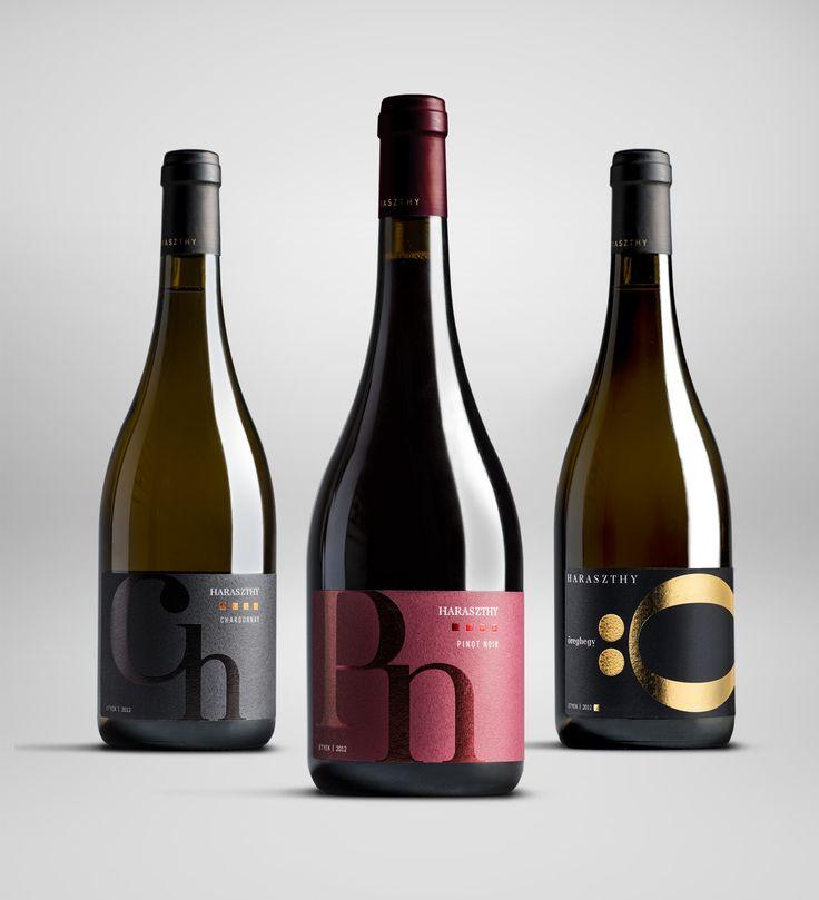 Haraszthy Vineyards Premium Line — The Dieline - Branding & Packaging