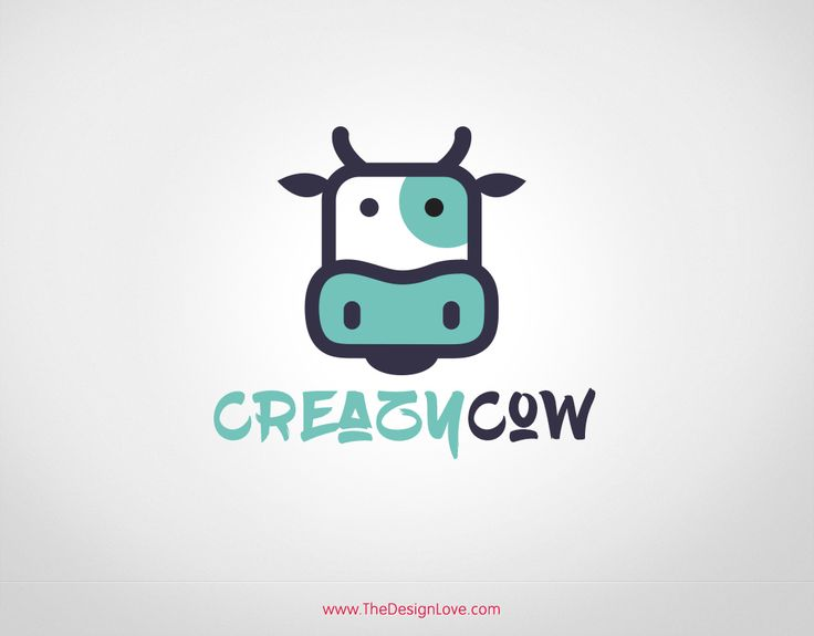 Free Vector Cow Logo for Dairy Farming Business. You can download this Crazy Cow logo for free by hitting the download button below.