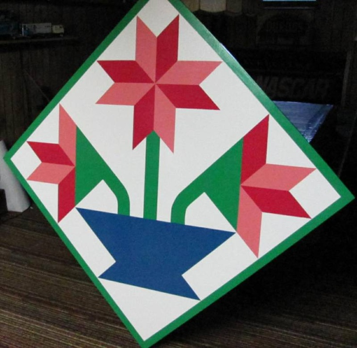 1000 images about barn quilts on pinterest quilt square for Garden shed quilting