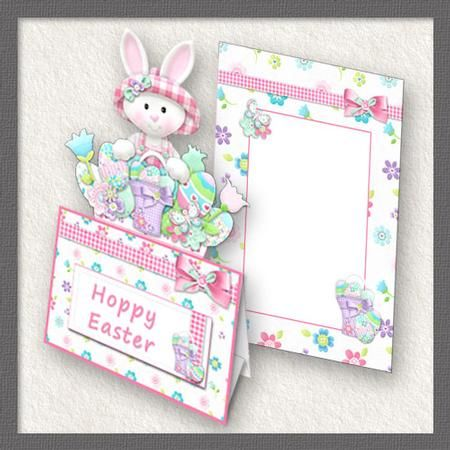 13 best easter cards gift boxes images on pinterest gift boxes slot top easter bunny girl on craftsuprint add to basket negle Gallery