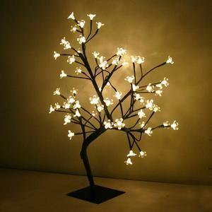 Cerisier lumineux 60cm blanc chaud - L'arbre lumineux Cerisier (Modèle Sakura)…
