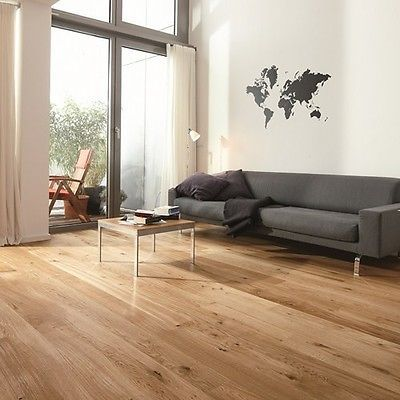 Natural Prefinished European French Oak Wide Board Engineered Timber Flooring