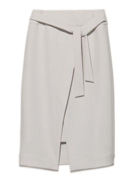 巻きディティールスカート(膝丈スカート)|Mila Owen(ミラ オーウェン)|ウサギオンライン公式通販サイト