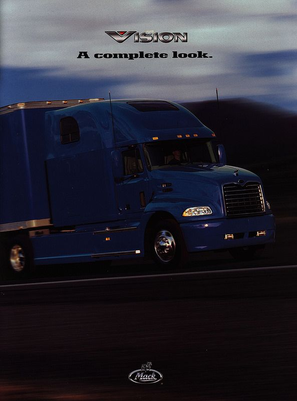 Mack Vision - A complete look. 2001_1 | truck brochure | by worldtravellib World Travel library - The Collection