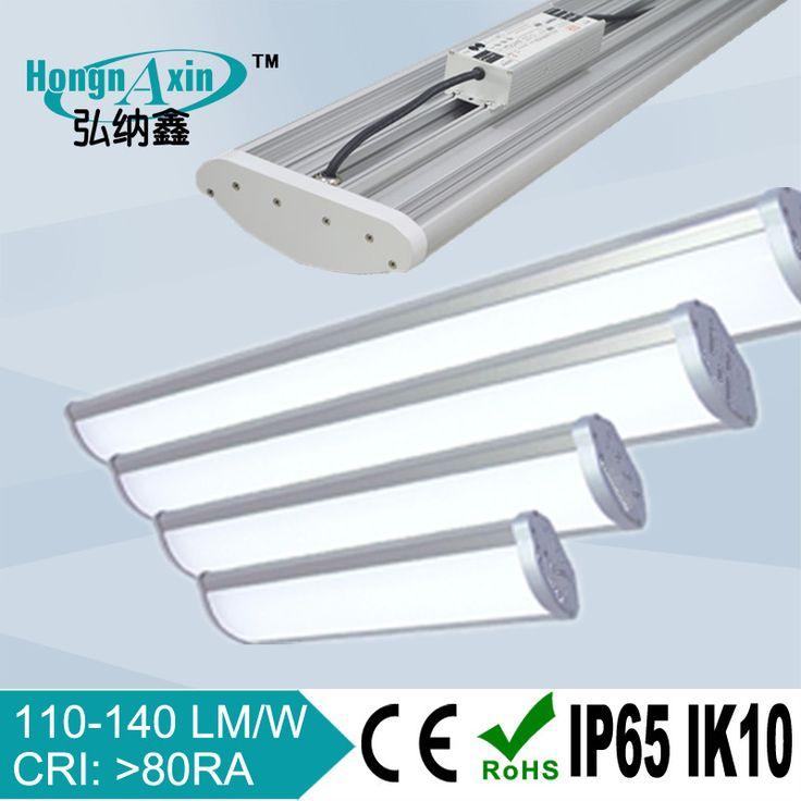 110-140lm/w linear high bay light for warehouse, garage, aisle, logistics ect  Linear high bay lighting Linear highbay lighting fixture Linear high bay light High bay light