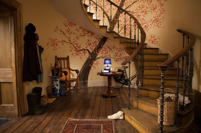 image hallway brown house paddington movie - Google Search