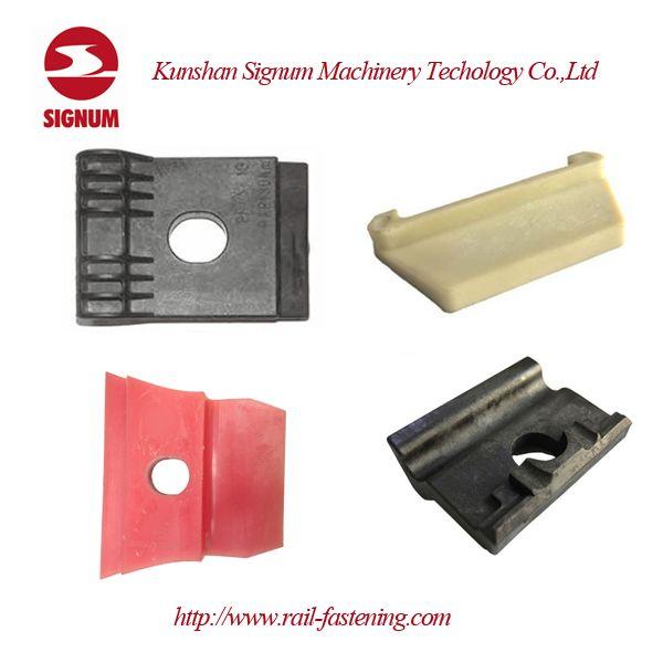 Rail screw dowel,also known as rail plastic sleeve, concrete
