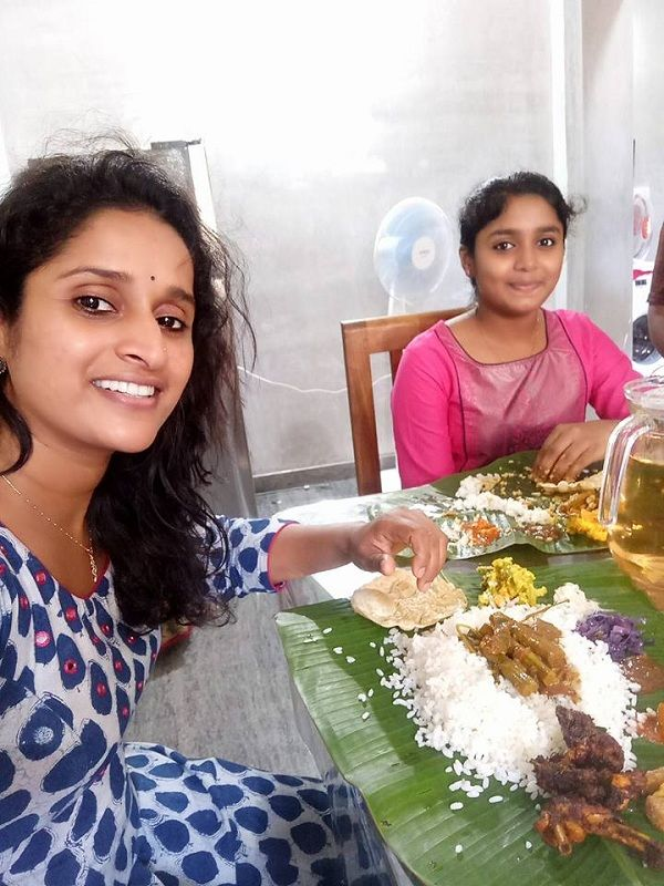 Malayalam actress Surabhi Lakshmi gets trolled for having beef on a show on Onam #FansnStars