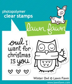 owl I want for christmasLawnfawn, Writing Bulletin Boards, Lawns Fawns Stamps, Winter Owls, Creative Writing, Get Well Soon, Clear Stamps, Crafts Supplies, Winter Sparrows