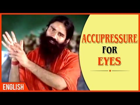 watch acupressure for eyes  baba ramdev  english your