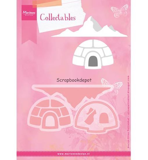 Marianne Design Collectable Igloo and mountain