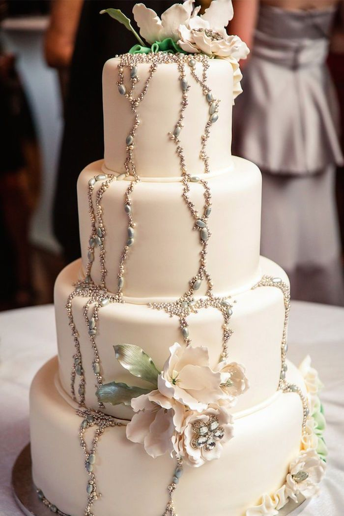 Wedding Cakes with Beautifully Rustic Details - MODwedding