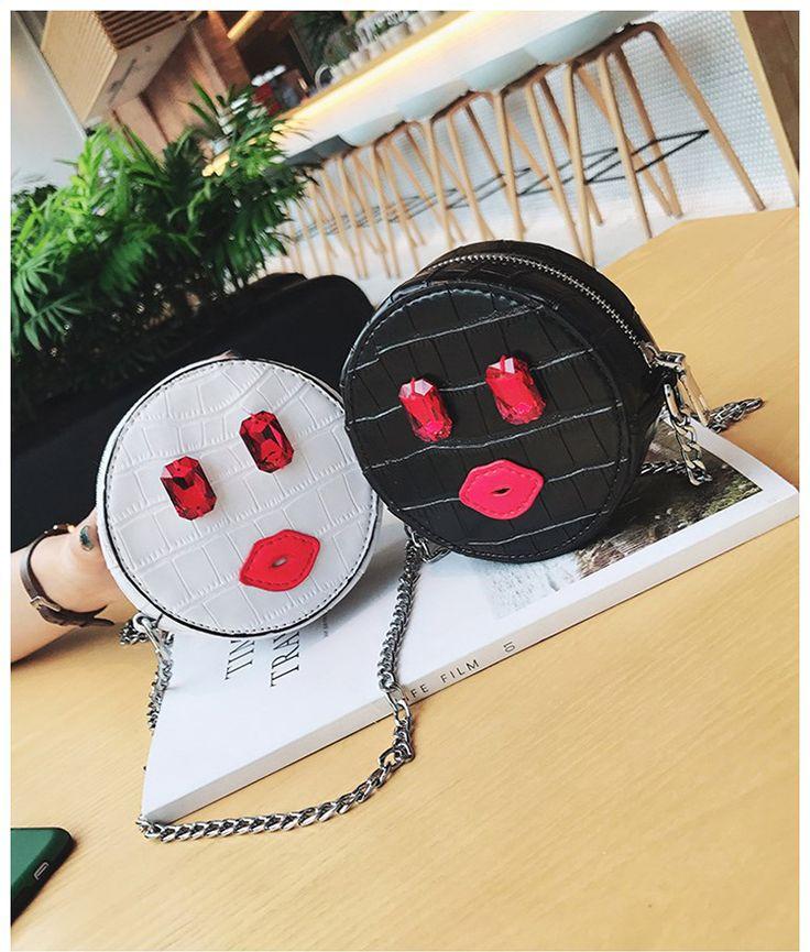 Korean version PUfashion bag (black)NHTC0569