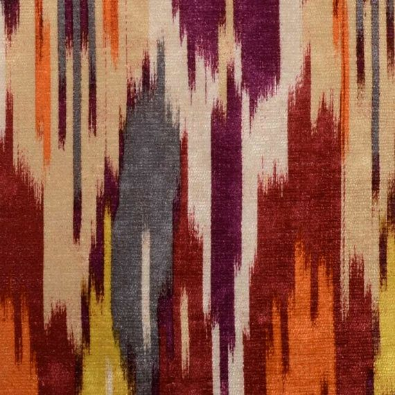 Red Grey Velvet Upholstery Fabric - Abstract Purple Fabric ...