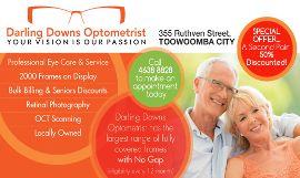 darling downs optometrist toowoomba