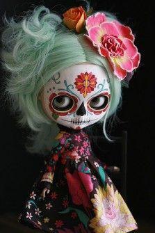 muñecas mexicanas calaveras - Buscar con Google