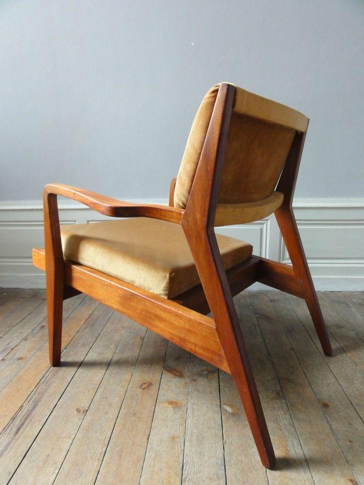 Les 25 meilleures id es de la cat gorie fauteuil ann e 50 - Chaise design annee 50 ...