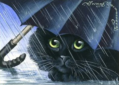 Blue Umbrella by Irina Garmashova                                                                                                                                                                                 More