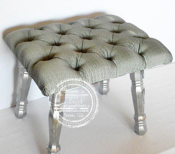 Vanity Stool Fancy Bench Bedroom By Rsmithdesignsstudio