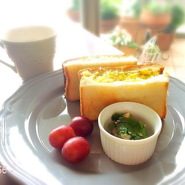 沼サン、今日は厚切りスパムで‼︎これも美味しい〜♪ - 67件のもぐもぐ - 沼サンとreiさんの砂肝と葱塩サラダパクチーバージョンでお家ランチ by 72Yu18