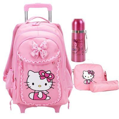 Resultado de imagen para mochila de niña con ruedas