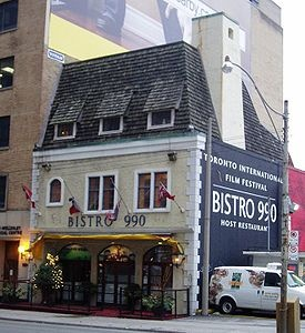 Bistro 990, Toronto. Very sad to see this grand old dame go!