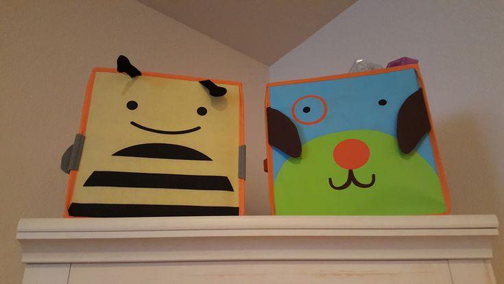 Kids Bedroom Toy Organizer Canvas Books Storage Bins Bag Dog Puppy Clothes Shelf #KidsBedroomToyOrganizer #bumblebee #toys #toyorganizer #books #kidsroom