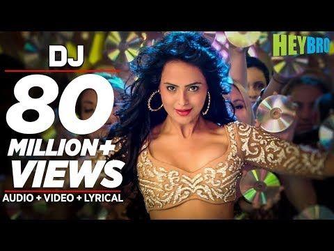 'DJ' Video Song | Hey Bro | Sunidhi Chauhan, Feat. Ali Zafar | Ganesh Acharya | T-Series - YouTube