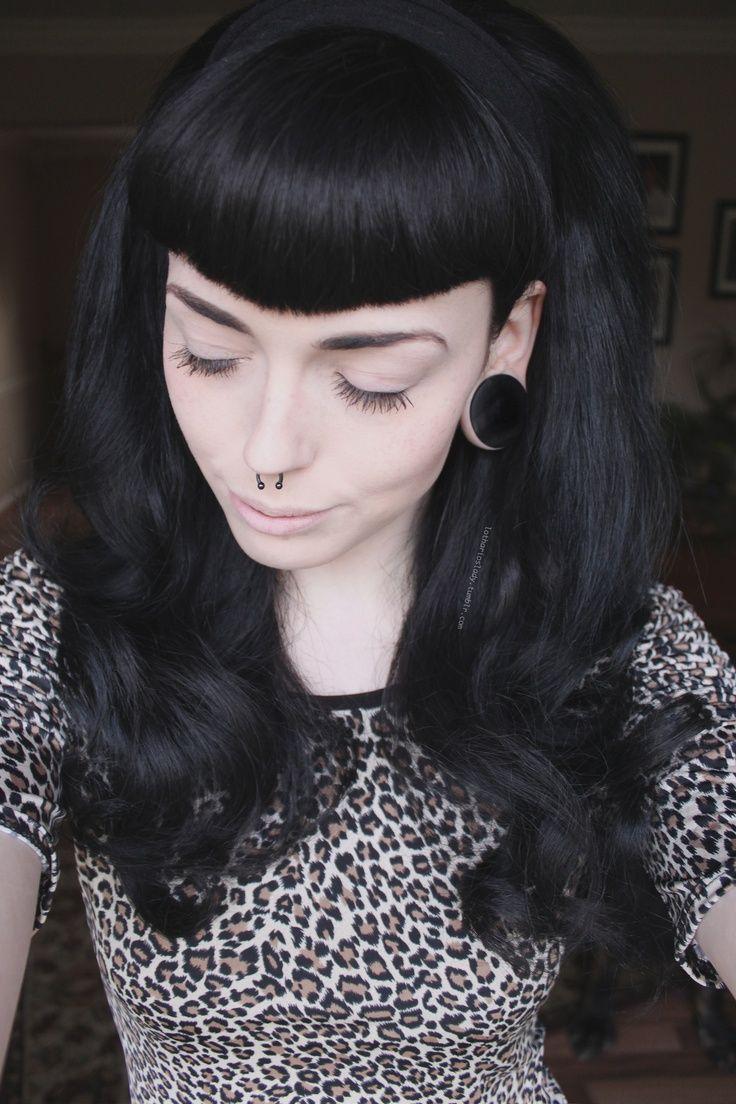 psychobilly hairstyles : Psychobilly Hairstyles For Women psychobilly psychobettie chest tattoo ...